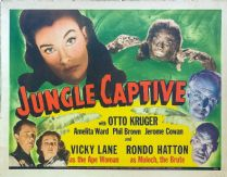 The Jungle Captive 1945 DVD - Otto Kruger / Vicky Lane